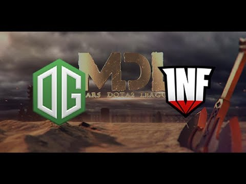OG vs Infamous 2017 Mars Dota 2 League Highlights Dota 2