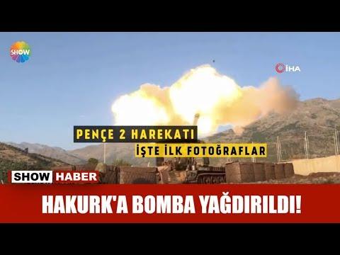 Hakurk'a bomba yağdırıldı!