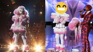 The Masked Singer -  The Poodle Performances and Reveal 🐩