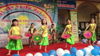 Bức hoạ đồng quê. Trường MN Đông Ngàn 1. Từ Sơn, Bắc Ninh