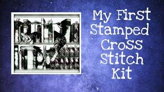 My First Stamped Cross Stitch Kit!