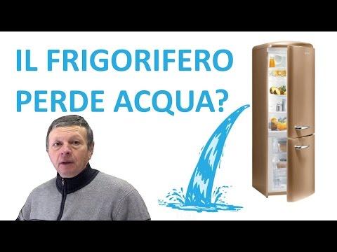 Il frigorifero perde acqua - I Tecnoconsigli PUNTATA 4