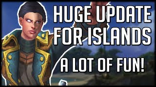 HUGE ISLAND EXPEDITIONS UPDATE - Most Fun Content So Far? | WoW Battle for Azeroth