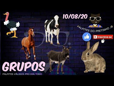 PALPITES DO PRETINHO JB 10/08/2020