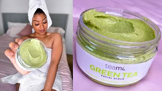 Green Tea Facial Scrub | Teami Blends