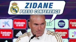 Éibar vs Real Madrid | Zidane's pre-match press conference