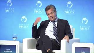 Carlos Moreira, WISeKey CEO at The World Policy Conference 2021 - Day 1