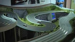 slot car crashes and racing nascar