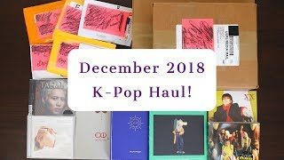 December 2018 K-Pop Haul - 8 Albums, A Season's Greetings, & Many Photocards!