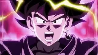 Goku Black Turns Super Saiyan Rose First Time ENG DUB