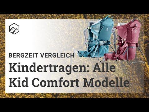 Deuter Kindertragen: Alle Kid Comfort Modelle im Vergleich | Bergzeit