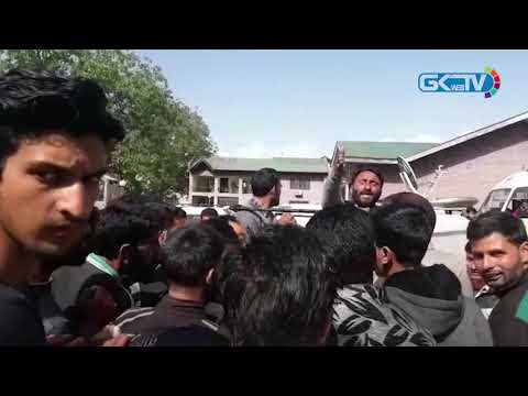 Probe ordered after police vehicle used to distribute food packets among BJP workers in Anantnag