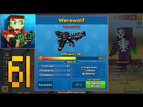 Pixel Gun 3D - Gameplay Walkthrough Part 61 - Werewolf