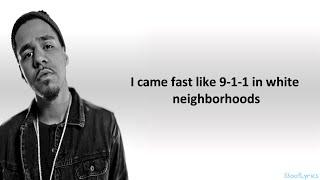 J Cole No Role Modelz Lyrics