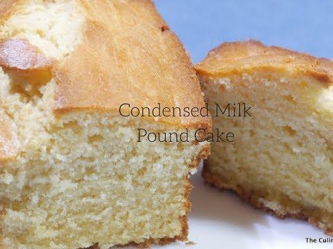 Video Condensed Milk Pound Cake