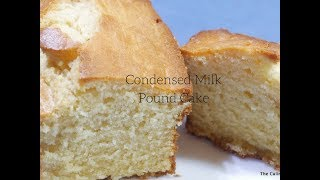 pound cake made with carnation milk