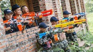 Video LTT Game Nerf War : Special Police Winter Warriors SEAL X Nerf Guns Fight Criminal Group Inhuman MP3, 3GP, MP4, WEBM, AVI, FLV September 2019