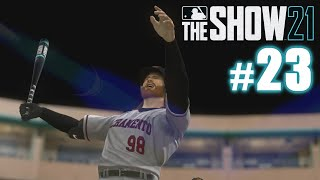 FIRST TRIPLE-A HOME RUN! | MLB The Show 21 | Road to the Show #23