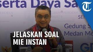 Penjelasan Dede Yusuf Tentang Mie Instan di Eropa Tak Seenak di Indonesia