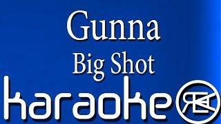 Gunna   Big Shot   Instrumental Karaoke Lyrics