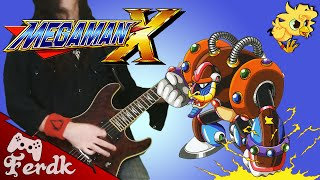 "Megaman X - ""Spark Mandrill""【Metal Guitar Cover】 by Ferdk"