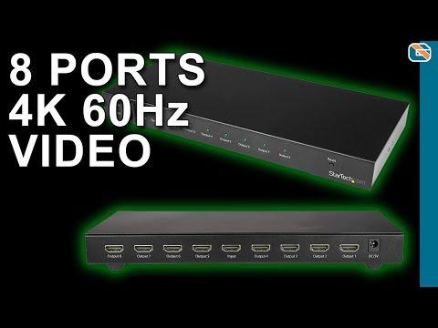 StarTech 8-Port 4K 60Hz HDMI Video Splitter Review