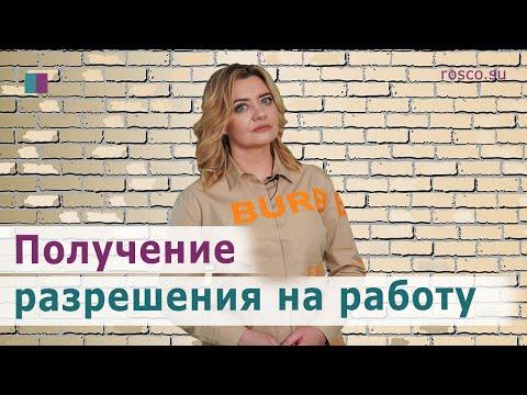 Получение разрешения на работу в РФ
