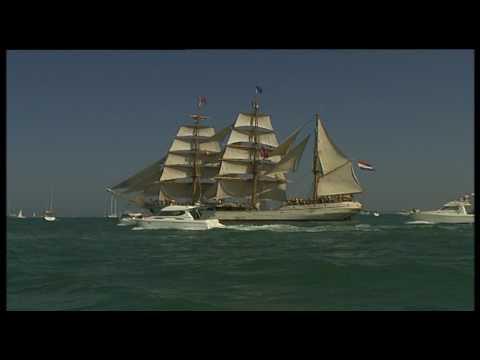 La Bahía de Cádiz recreará la histórica estampa de la Flota de Indias