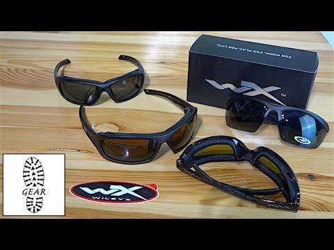"""Schutz- und Sonnenbrillen """"Guard, WX Gravity + WX Echo"""" von Wiley-X"""