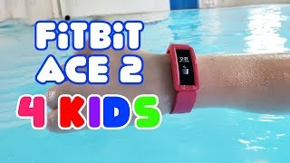 FitBit Ace 2 for Kids! Setup & Review