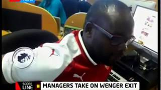 Score Line: Arsene Wenger to leave Arsenal