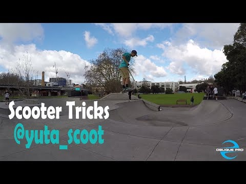 Scooter Tricks by @yuta_scoot