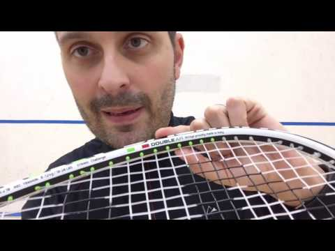 Salming Cannone Pro Squash Racket Review