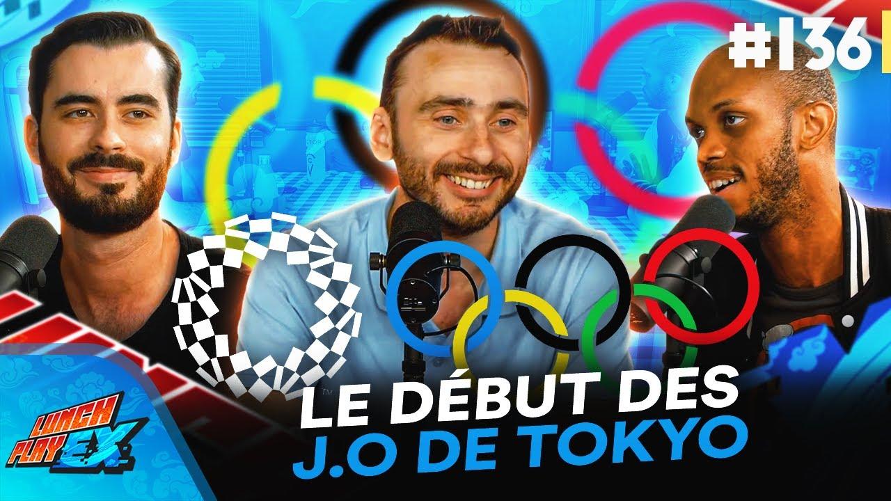 On parle du début des Jeux Olympiques de Tokyo ! 🏅   Lunch Play EX #136