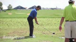 Retief Goosen Swing (Side and Back) @ 2009 US PGA