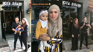 Maryam Ikut Fizo Omar & Mawar Karim Rasmikan Restoran FizoMawar Kitchen Di Kota Bharu, Kelantan