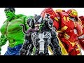Venom Appeared Animals Are In Danger Avengers Come And Rescue Animals Toymarvel