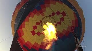 Первый раз на воздушном шаре! =) 05.11.2017