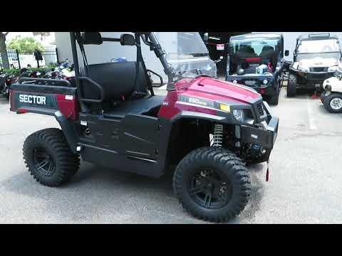2021 Hisun Sector 550 EPS in Sanford, Florida - Video 1