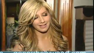 "Ashley Tisdale On set ""He said she said""  Version 1 (2007)"
