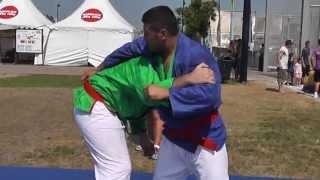 preview picture of video 'démonstration de techniques de kourach (judo), part 8, juillet 2013'