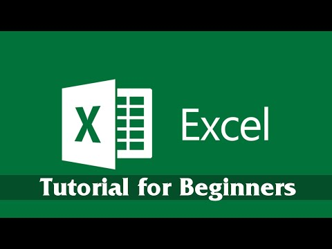 Introduction to Microsoft Excel 2016 – Getting Started Tutorial for Beginners