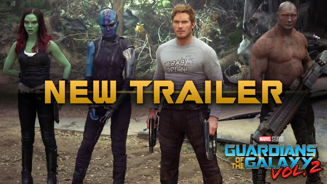 There's Another Trailer For Guardians Of The Galaxy Vol. 2