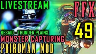 (Livestream) Final Fantasy X - Pbirdman Mod Walkthrough - Part 49 - Monster Capturing Part 1