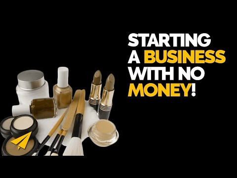 Start a Cosmetics Business with No Money