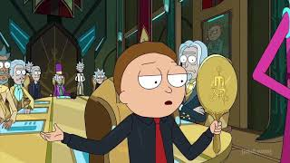 Evil morty becomes the president of the citadel HD scene