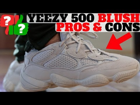 PROS & CONS: YEEZY 500 BLUSH Review + On Feet!