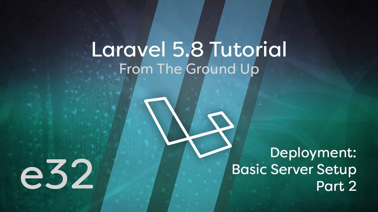 Cover image for the lesson by the title of Deployment: Basic Server Setup Part 2