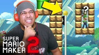 HOW IN THE FFFF ARE YOU SUPPOSED TO BEAT THIS!? [SUPER MARIO MAKER 2] [#39]