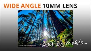 Wide Angle 10mm Lens